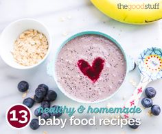 Treat your baby to these 13 healthy and homemade baby food recipes. They're so delicious even picky eaters can't refuse!