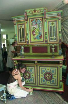 peindre des meubles henri ii mobilier henri ii pinterest buffet de f te. Black Bedroom Furniture Sets. Home Design Ideas