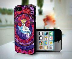 Disney Alice in Wonderland Glass Art design for iPhone 5 case | customgiftshop - Accessories on ArtFire