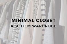 A 50 Item Wardrobe
