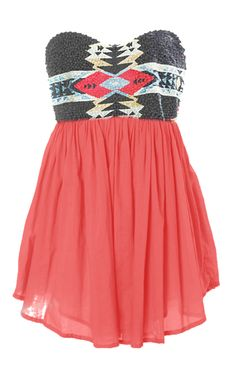 cute Aztec Dress