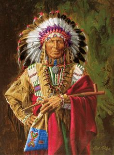 Chief American Indian Art, American Indians, Native American Wisdom, Native American Beauty, Native American History, Native American Cherokee, Cherokee Indians, Native American Paintings, Lost Soul