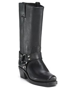 """Frye Women's """"Harness 12R"""" Leather Riding Boots 