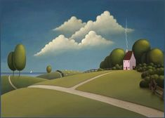 Passing Clouds. by Paul Corfield.