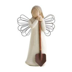 Willow tree angel of the garden ($43) ❤ liked on Polyvore featuring home, outdoors and outdoor decor