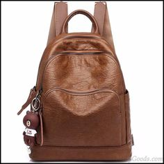 Retro British Style Brown Three Zippers College Bag School Backpack #bag #retro #school #Backpack #college Lace Backpack, Striped Backpack, Laptop Backpack, Backpack Bags, Fashion Backpack, Retro Backpack, Fashion Bags, Backpacks For Teens School, Backpack For Teens