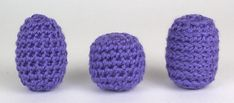 The same crochet pattern, worked in different loops, looks totally different - Tutorial