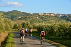 Cycling in the Tuscan hills is a VIP Me & Mom in Tuscany activity. Make sure to request this tour when you book.