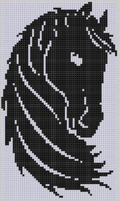 Horse Head Cross Stitch Pattern | Craftsy