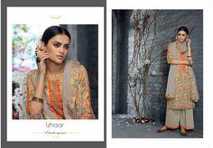 Izhaar - Silk Fabric Catalog By Ganga Fahshions.
