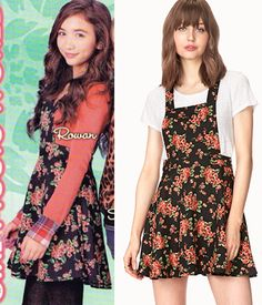 Riley Matthews (Rowan Blanchard) wears a Forever 21 Sweetest Flower Overall Dress in the color Black/Orange in an upcoming episode of Girl Meets World Season Preteen Fashion, Fashion Tv, I Love Fashion, Fashion Outfits, Fashion Guide, Disney Fashion, Going Out Outfits, Cute Outfits For Kids, Cool Outfits