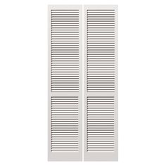 Shop ReliaBilt 30 In X 79 In Louvered Solid Core Pine Interior Bifold Closet