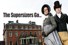 The Supersizers Go... My new favorite BBC/Hulu discovery! They spend a week living entirely in a new era, particularly experiencing the food. History and food - these are a few of my fav-or-ite things!