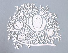 In nature  papercut by giochi di carta