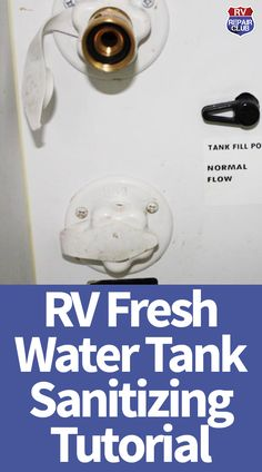 One of our Club members reached out with an important question: is there a safe and efficient way to flush an RV fresh water tank? The answer is yes, but as we've learned, rule number one for RV maint Rv Camping Tips, Travel Trailer Camping, Rv Travel, Rv Tips, Travel Trailers, Camping List, Camping Stuff, Camping Products, Camping Essentials