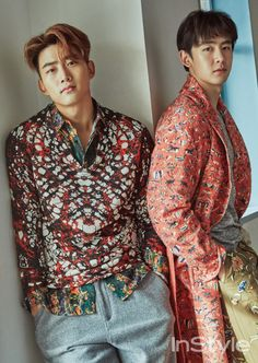 Nick Khun and Taecyeon - InStyle Magazine February Issue '16