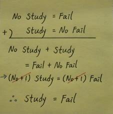 Impeccable logic. Fail!