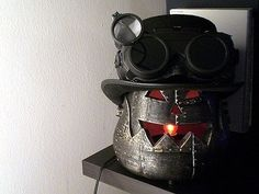 ...this is MOST awesome.    Steampunk Your Halloween with These Creepy Steampunk Decorations « Steampunk R