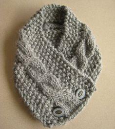 Designer Knitting Patterns | Free Knitting Pattern Neck Warmer Design Patterns