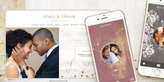 Create a gorgeous wedding website and wedding app http://www.mydreamlines.com/2015/11/wedding-app-of-2016/