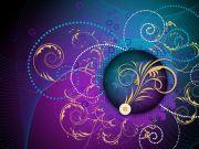 abstract flourish vector art HD Wallpaper