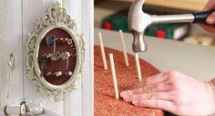 Je fabrique un joli cadre porte-bobine Ultra pratique et esthétique, ce cadre permet de fixer bobines et instruments de couture, pour se mettre dans la peau d'un petit tailleur!