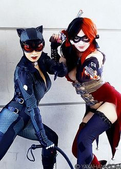 Catwoman and Harley