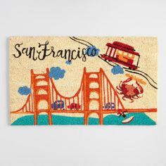 San Francisco Coir Doormat - v1