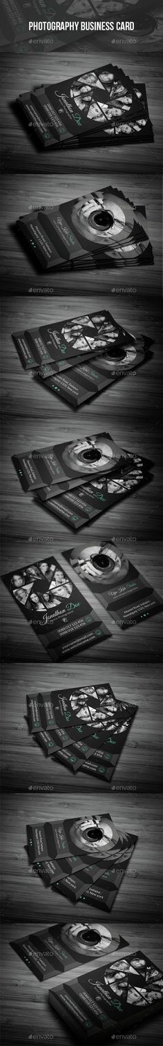 Photography Business Card  —  PSD Template