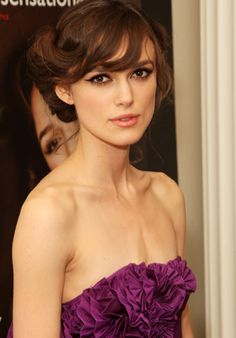Keira Knightley at The Edge of Love Premiere #IPAProm Fabulous #Hair and #Makeup