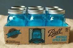 The new blue Ball jar celebrating 100 yrs.