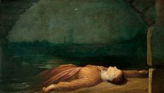Found Drowned, c.1848-50 George Frederic Watts