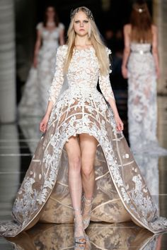 Zuhair Murad Spring Summer 2016 Haute Couture @Maysociety