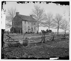 Photograph from the main eastern theater of war, First Bull Run, July 1861  Bull Run, Va. Matthews' or the Stone House