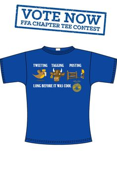 This tee was designed by AFSA FFA from MN!