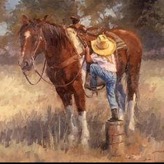 Browse little cowgirl pictures, photos, images, GIFs, and videos on Photobucket Little Cowgirl, Cowgirl And Horse, Cowboy Art, Horse Love, Cowboy Pics, Cowboy Quotes, Cowgirl Tuff, Clydesdale, Jolie Photo