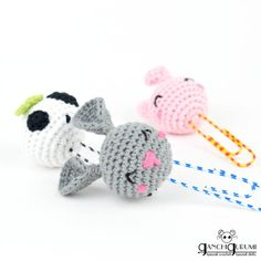 🇺🇸 (🇪🇸👇) Do you want more tutorials about simple and fast amigurumi in the channel? 💕 · I'm thinking about designing more easy, small yet… Crochet Gifts, Cute Crochet, Crochet For Kids, Crochet Dolls, Knit Crochet, Handmade Soft Toys, Crochet Bookmarks, Bunny Crafts, Easy Crochet Patterns