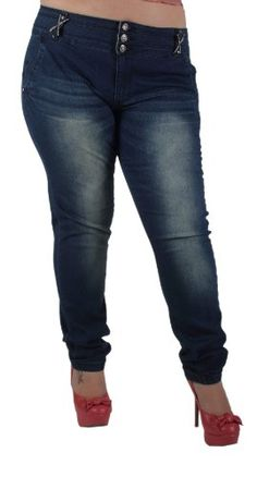 Fashion Bug Womans Plus Size Fashionable, Skinny Leg, Soft, Stretch Jeans www.fashionbug.us