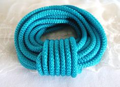 Light Petrol Climbing Cord Semisoft Rope Cord Round Cord by Single Piece, 1 Piece, Climbing, Cord, Crafts, Etsy, Unique, Shop, Products