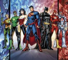 So much awesome. Superheroes :)