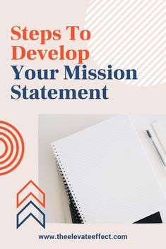 Your business needs to have a mission statement for many reasons. A mission statement is a summary of the goals & values of your business that serves as the foundation for all your business decisions. Creating a mission statement for your small business can be hard sometimes, but I am sharing my 6 step guide to help you craft and write down your vision and mission statement for your small business. The blog includes mission statement examples, template and ideas. Creating A Mission Statement, Mission Statement Examples, Vision And Mission Statement, Online Business Plan, Business Advice, Business Motivation, Business Planning, Entrepreneur Inspiration, Business Inspiration