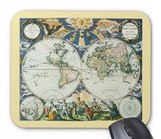 古い世界地図(1666年製)のマウスパッド:フォトパッド(地図シリーズ) [並行輸入品] 熱帯スタジオ http://www.amazon.co.jp/dp/B0150D0Q1O/ref=cm_sw_r_pi_dp_OKodwb0EX57Y0