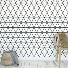 Tapeta na ścianę - TRIANGULAR FIELD