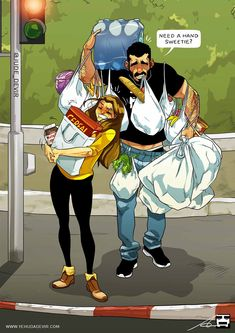 Super funny love quotes for couples hilarious humor 27 Ideas Cute Couple Comics, Couples Comics, Cute Couple Art, Couple Cartoon, Funny Couples, Anime Couples, Bd Comics, Meme Comics, Yehuda Devir
