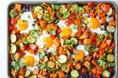 Think of this sheet pan sweet potato and black bean hash as your invitation to do dinner for breakfast, or even vice versa. It's fragrantly spiced and cooks up fast.
