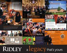 Ridley College Search Piece by Turnaround Marketing Communications