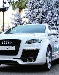 audi Q7 V12 Audi Q7, Audi Cars, Audi Motorsport, Audi Tt Roadster, New Luxury Cars, Volkswagen Group, Car Goals, Fancy Cars, Hot Rides
