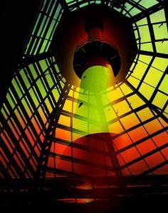 'Leuchtturm 6' von Walter Zettl bei artflakes.com als Poster oder Kunstdruck $16.63