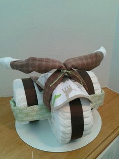 Diaper Tricycle  Baby Shower Gift BOY  Baby by 2CuteDesignsLS, $60.00
