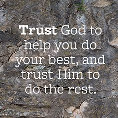 How Trusting God Can Transform Your Life